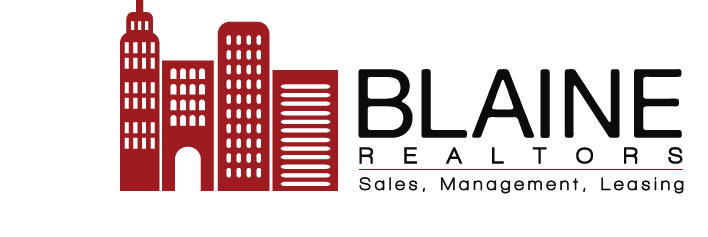 Blaine Realtors: Sales, Management, Leasing.